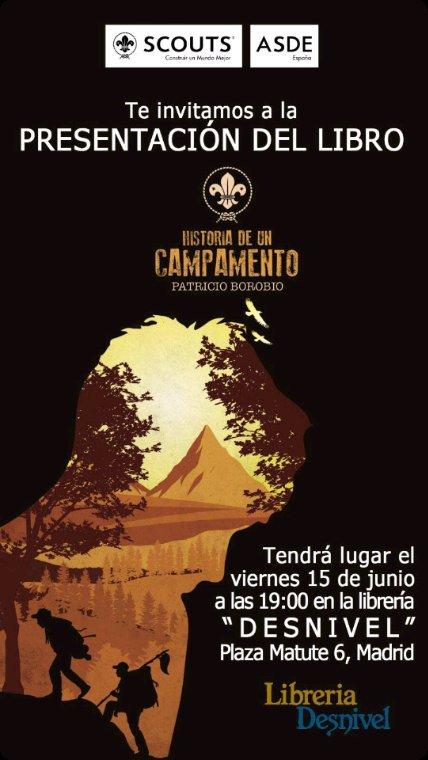 """⚜️ Presentación ASDE del libro """"Historia de un campamento"""""""
