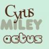 CyrusMileyActus