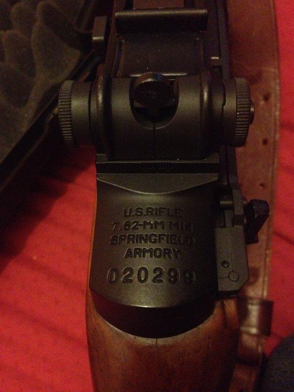 Vente M14 et son matériel !