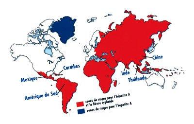 Hépatite A, Typhoïde et Paludisme... en général