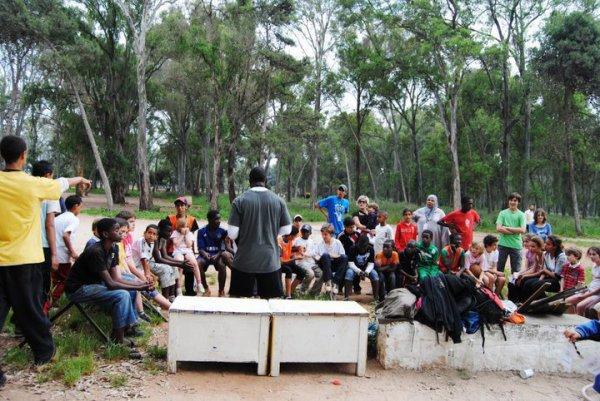 Activité sportif culturel et artistique en faveur des enfants habitant dans des quartiers en difficulté