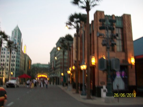 rue au Walt Disney Studio