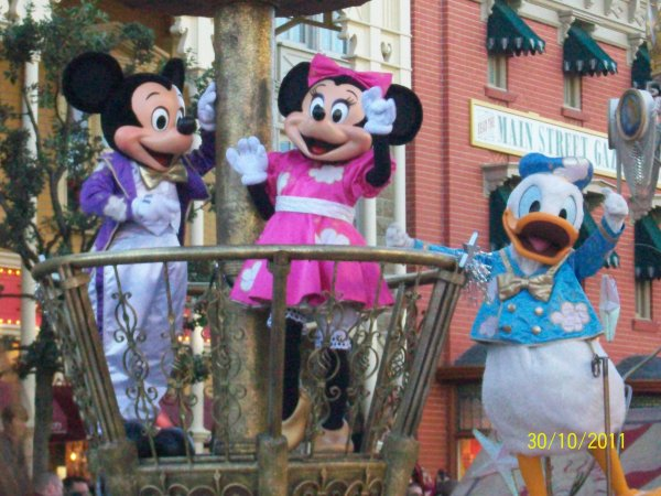 Mickey, minnie et donald