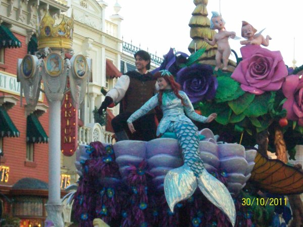 La petit siréne et son prince