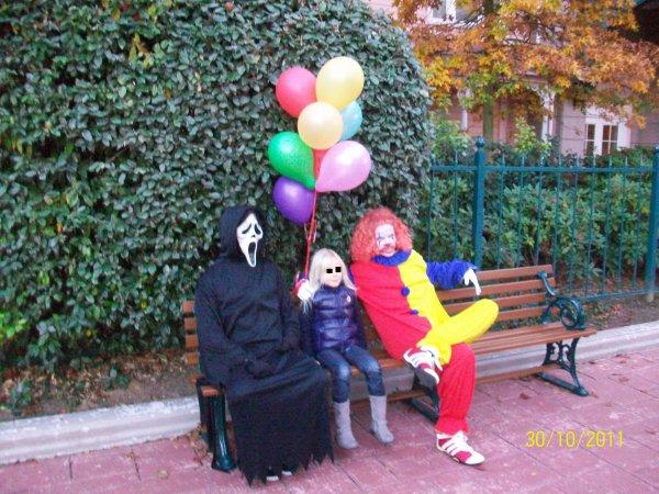 scream et le clown de il est revenu