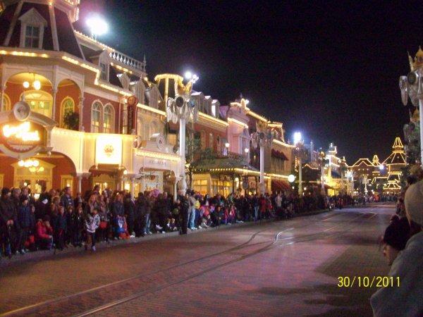 Main street avant la parade électrique