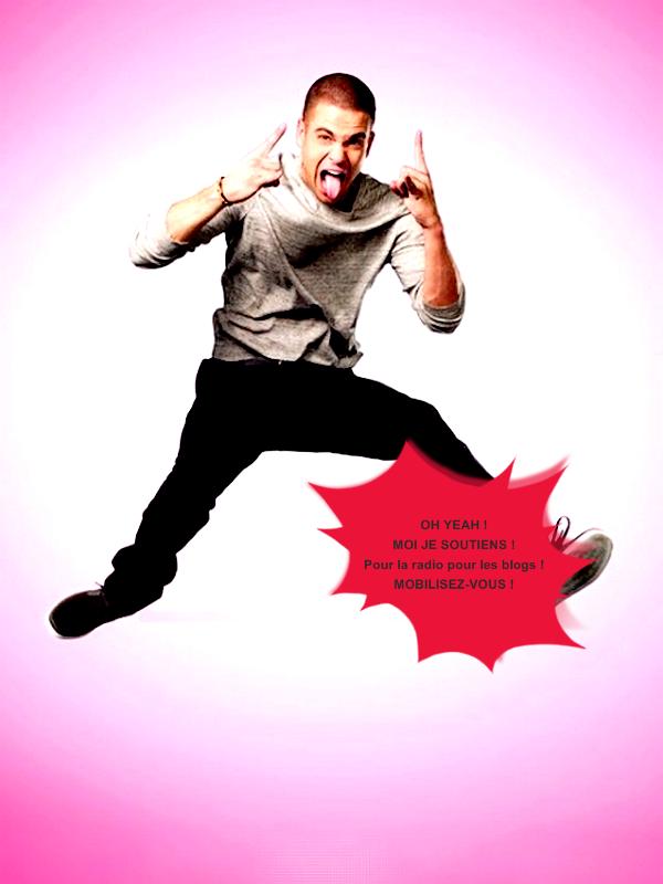 même Glee soutien Skyrock