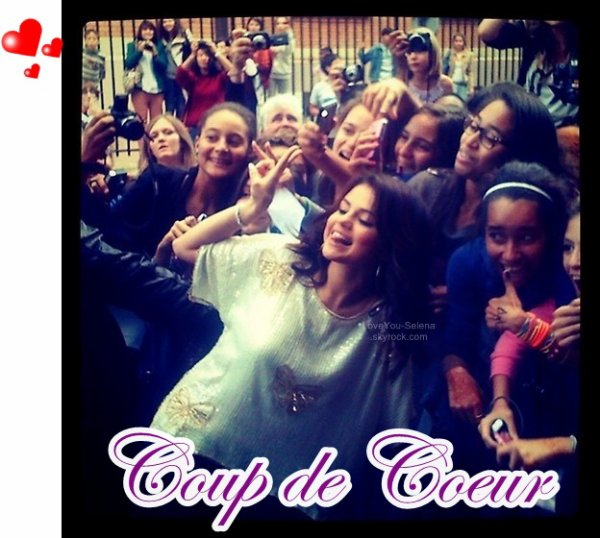 Selena à Paris