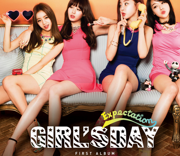 Girl's Day - Expect ~ Ooh ooh, ooh ooh, gwiyeopge,ooh ooh, ooh ooh, yeppeuge,Neol naege neol naege dagaoge mandeullae  ♪