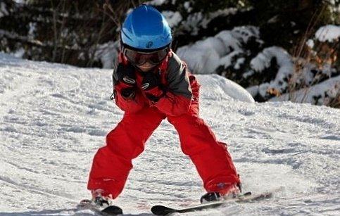 mon bro au ski cette aprem