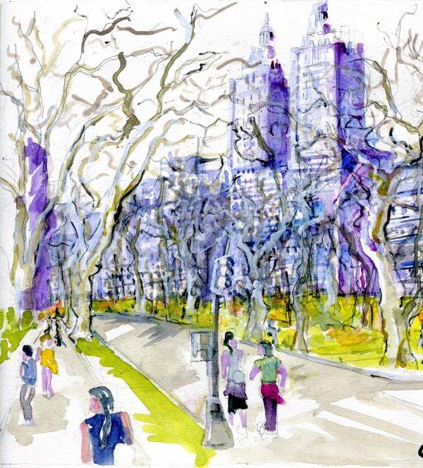 Image IN  Central Park ....... fait vriller.