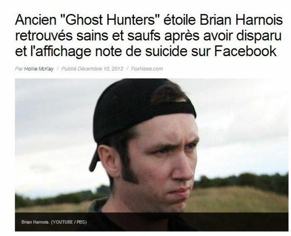 Brian Harnois -Lost & Find- (Décembre 2012)