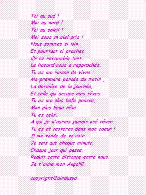 Un Poeme De La Part Dune Amie Qui Sappel Cathy Un
