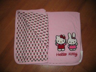 couverture polaire bébé hello kitty COUVERTURE POLAIRE HELLO KITTY   HELLO KITTY & CIE couverture polaire bébé hello kitty
