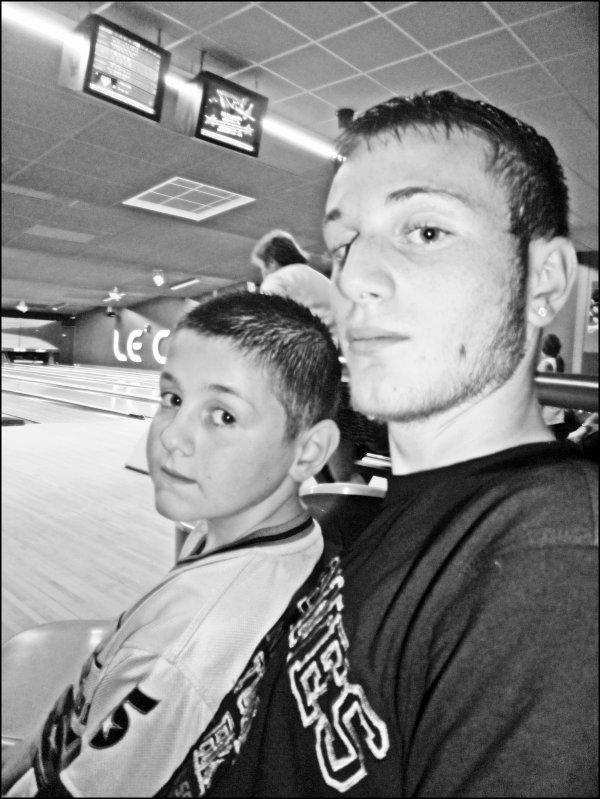 Mon homme avec Mon frère
