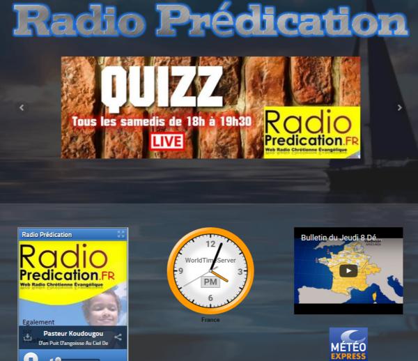 Nouveau site pour Radio Prédication