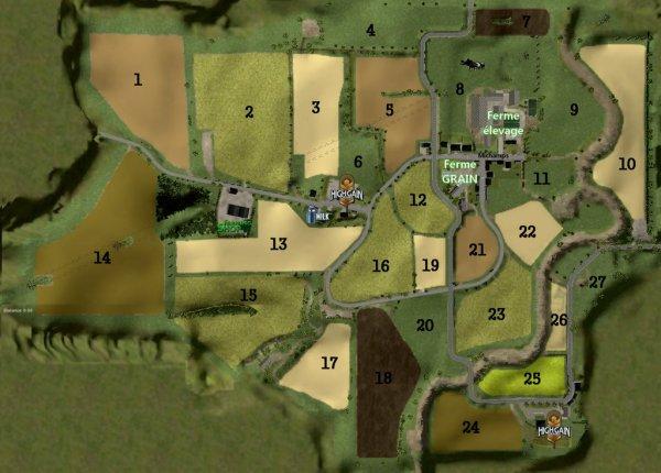 Fiche technique de la nouvelle MAP