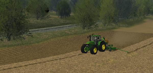 Semi de maïs
