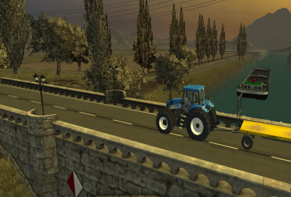 New Holland TG 285 + Littorale PU18