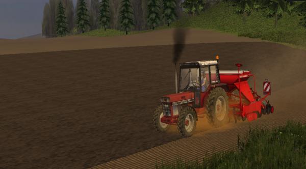 Semi de blé
