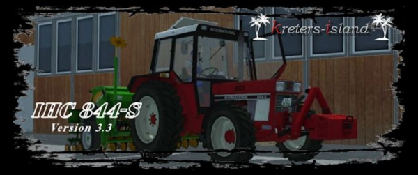 Mod LS 2013: Case IH 844 SA Relevage Hydraulique Avant V 3.3