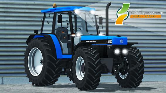 Mod LS 2013: New Holland 8340 90 V1.0