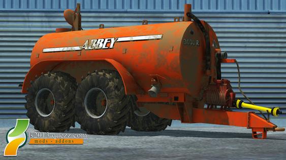 Mod LS 2013: Abbey 3000R Slurry Tanker
