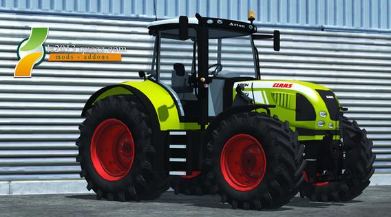 Mod FS 2013: Claas Arion 640 V 2.0