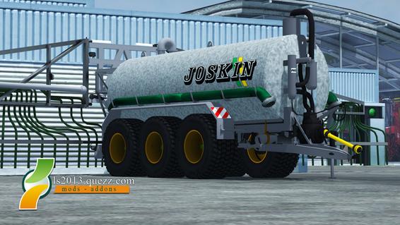 Mod FS 2013: Tonne à Lisier Joskin TRS Tridem 25.000L V 2.0
