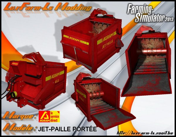 Mod FS 2013: Jet de paille Agram V 1.0