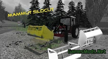 Mod FS 2013: Mammoth Silocut v1.1