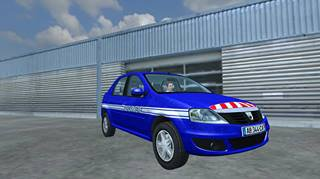Mod FS 2013: Dacia Logan Gendarmerie
