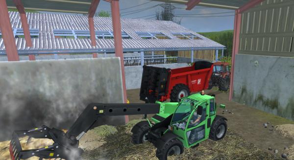 Fumier et paillage à la ferme