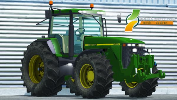 Mod FS 2013: John Deere 8400 v 1.0