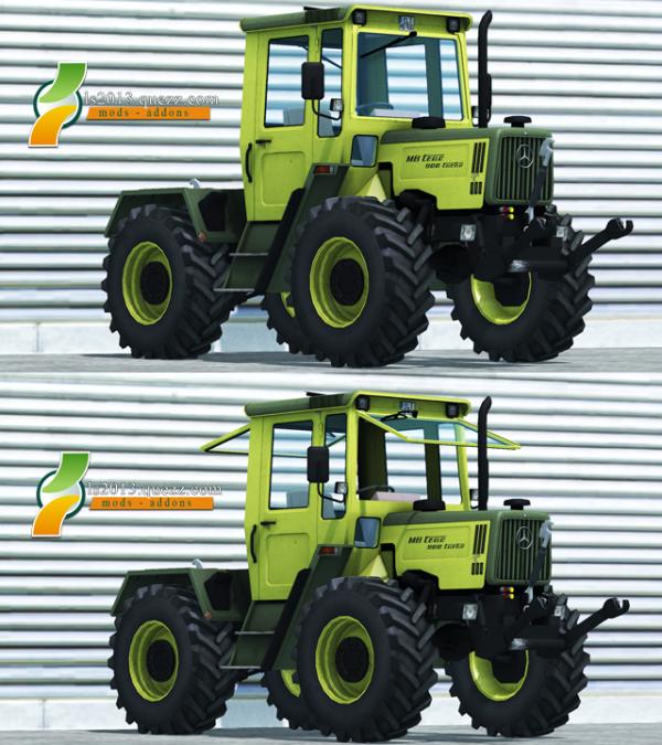 Mod FS 2013: MB Trac 900 Turbo v 1.0