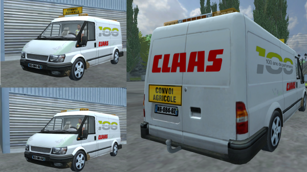 MOD DE LA TEAM: Ford Transit Claas