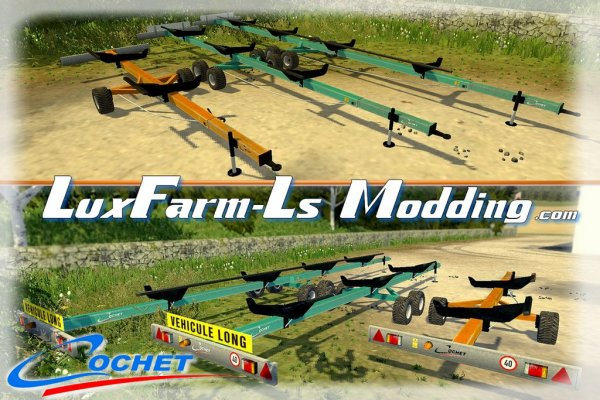 Mod FS 2013: Pack Chariot porte coupe Cochet