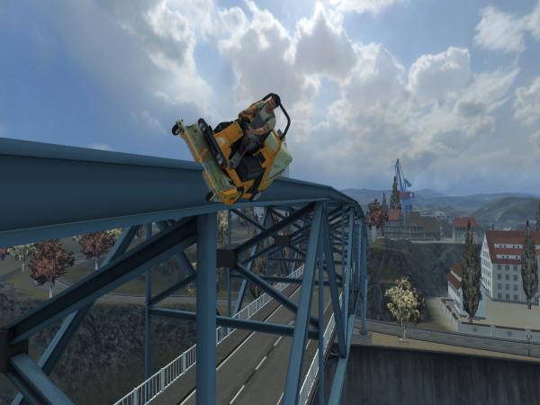 Aujourd'hui ,on ma demander de faire une balade sur un pont !!!