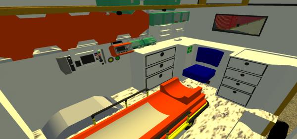 Voici l'interieur de mon ambulance (c'est un objet, PAS DE LIEN )