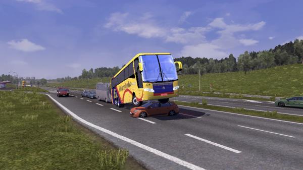 Quelques accidents sur la route avec les passagers ^^