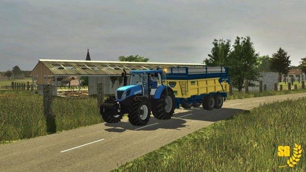 """Petit test des nouvelles routes sur la Map """" La Petite Loraine """""""