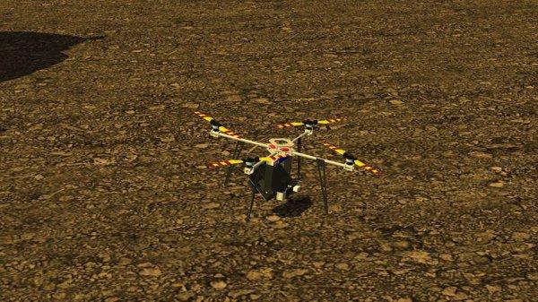 Test du drone...