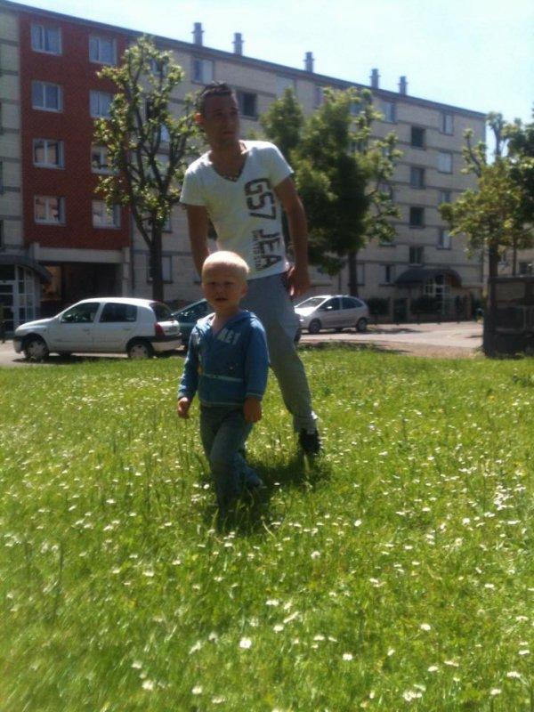 Theo et papa <3