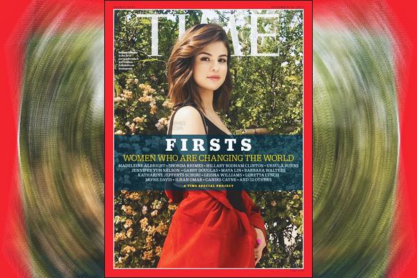 Selena Gomez nous parle de son vécue/son ressentie, pour le magazine TIME FIRSTS.