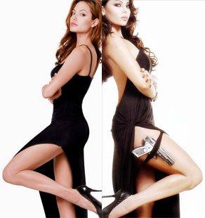 Angelina Jolie Vs. Haifa Wehbe