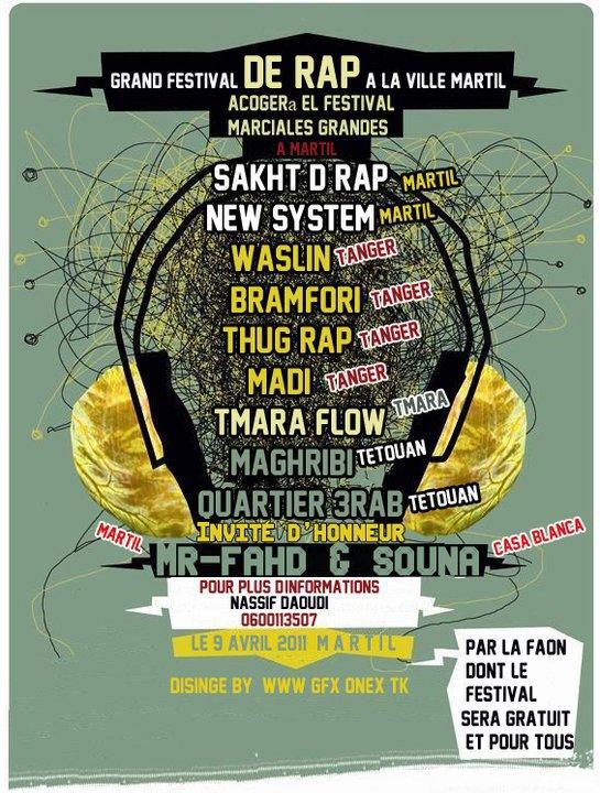 Concert a Martil 09/04/2011