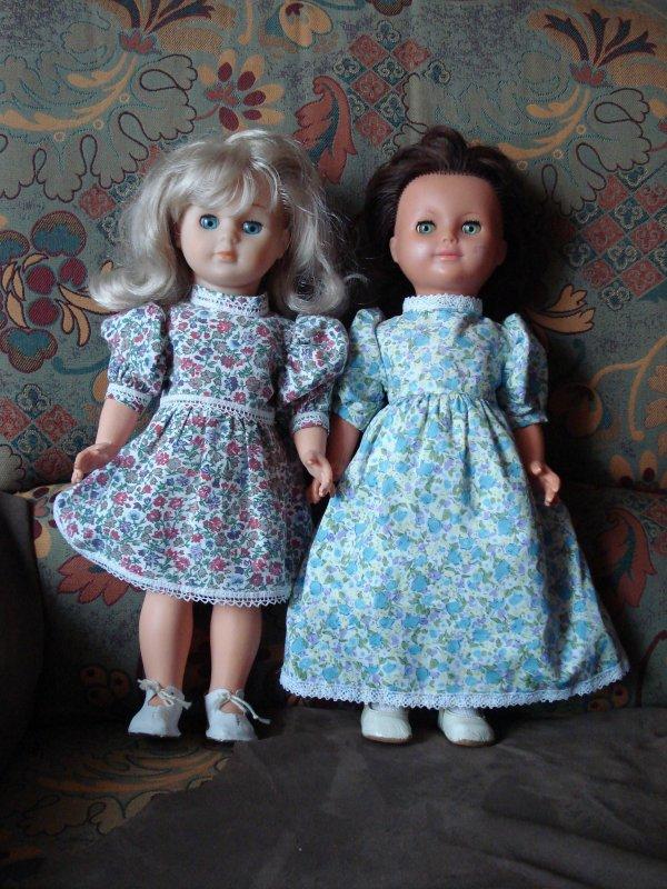 Emilie et Marie-Françoise