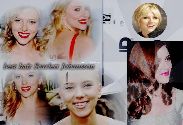 best off des meilleures coiffures de la belle  Scarlett