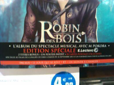 Édition spéciale E.Leclerc de Robin des bois > édition limitée + 8 cartes exclusives dans le digipack. Merci Matt C. pour l'info !