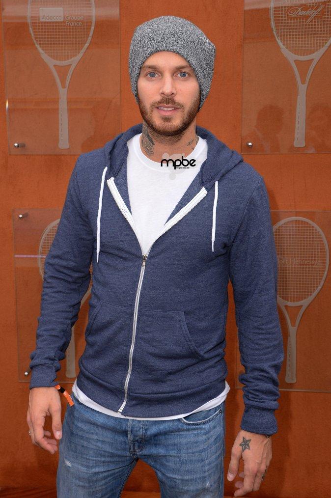 M.pokora a la finale de Roland Garros